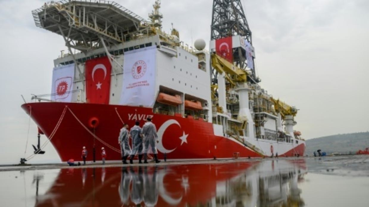 EU to sanction two Turks linked to Med gas drilling